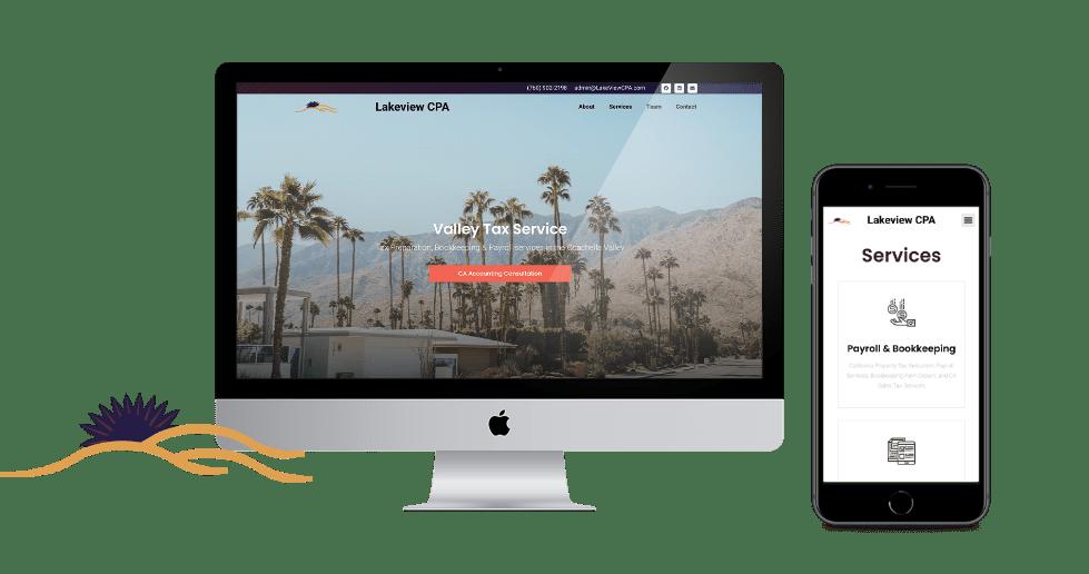 Web Design Palm Springs Graphic Designer