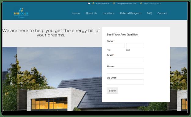 solar company Palm Springs